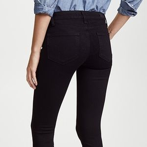 Paige Ultra Skinny Verdugo Black Stretch 26 27